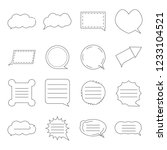 message box bubble icon vector...
