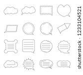 message box bubble icon vector...