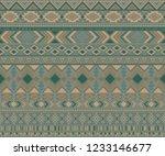 peruvian american indian... | Shutterstock .eps vector #1233146677