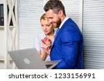 relations at workplace.... | Shutterstock . vector #1233156991