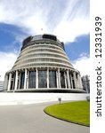 Parliament Building of Wellington, New Zealand - stock photo