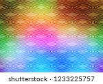 light multicolor  rainbow...   Shutterstock .eps vector #1233225757