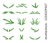 vector collection of hand drawn ... | Shutterstock .eps vector #1233229567