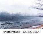 shirakawago on a snow day | Shutterstock . vector #1233273664