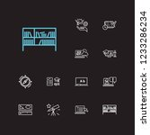 elearning icons set. rulers and ...