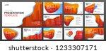 business presentation templates ... | Shutterstock .eps vector #1233307171