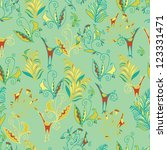 seamless pattern | Shutterstock .eps vector #123331471