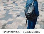 men's fashion concept. man... | Shutterstock . vector #1233322087
