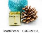 christmas ball ornaments   Shutterstock . vector #1233329611