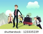a vector illustration of a... | Shutterstock .eps vector #123335239