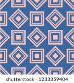 geometric pattern seamless... | Shutterstock . vector #1233359404