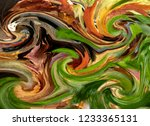 abstract background in colorful ... | Shutterstock . vector #1233365131