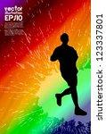 eps10 sport vector illustration | Shutterstock .eps vector #123337801