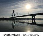 bridge over the river   Shutterstock . vector #1233402847