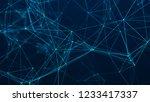 abstract digital background.... | Shutterstock . vector #1233417337