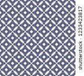 vector floral seamless pattern. ... | Shutterstock .eps vector #1233423817