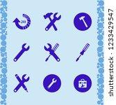 hardware icon. hardware vector... | Shutterstock .eps vector #1233429547