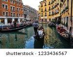 venice  italy   september 30 ... | Shutterstock . vector #1233436567
