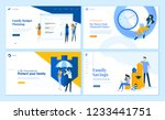 set of flat design web page... | Shutterstock .eps vector #1233441751