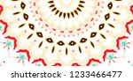 melting colorful pattern for... | Shutterstock . vector #1233466477