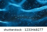 data technology background.... | Shutterstock . vector #1233468277