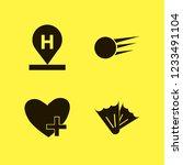 leisure icon. leisure vector... | Shutterstock .eps vector #1233491104