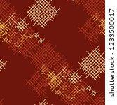 grunge seamless tartan.... | Shutterstock .eps vector #1233500017