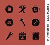 hardware icon. hardware vector... | Shutterstock .eps vector #1233503851