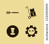 food icon. food vector icons... | Shutterstock .eps vector #1233505054