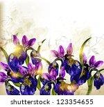 floral vector | Shutterstock .eps vector #123354655