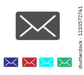 email icon vector | Shutterstock .eps vector #1233572761