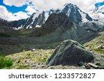 Snowy Giant Mountain Range...