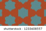background with a knitted... | Shutterstock . vector #1233608557