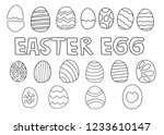 abstract hand draw set of...   Shutterstock .eps vector #1233610147