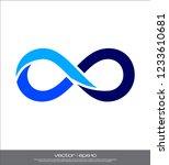 infinity symbol vector | Shutterstock .eps vector #1233610681