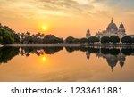 victoria memorial colonial... | Shutterstock . vector #1233611881