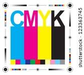 cmyk letters design art image   Shutterstock .eps vector #123363745