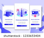 onboarding screen page template ...