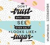 inspirational quote  motivation.... | Shutterstock .eps vector #1233660484
