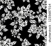 abstract elegance seamless... | Shutterstock . vector #1233687514