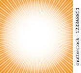 shine. orange background ... | Shutterstock . vector #123368851