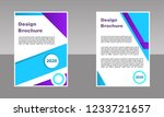 creative cover  layout ... | Shutterstock .eps vector #1233721657