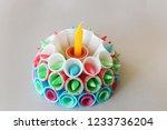 Krathong From Ice Cream Cone...