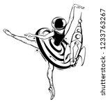 vector hand drawn illustration...   Shutterstock .eps vector #1233763267