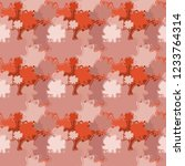 seamless background pattern... | Shutterstock . vector #1233764314