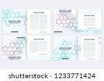 modern minimal vector layout... | Shutterstock .eps vector #1233771424
