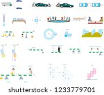 course drawings of force and... | Shutterstock .eps vector #1233779701