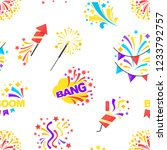 bang party and celebration of... | Shutterstock .eps vector #1233792757