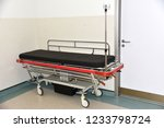 stretcher in hospital | Shutterstock . vector #1233798724