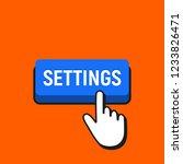 hand mouse cursor clicks the...